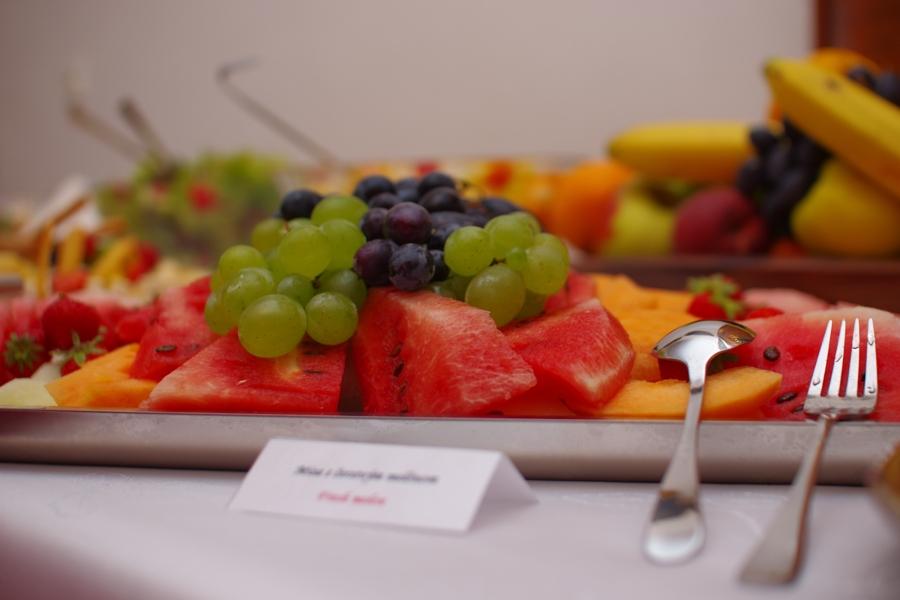 Svadobné menu - ovocný bufet